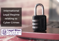International Legal Regime relating to Cyber Crimes