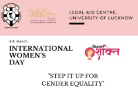International Women's Day Fiesta 2021 | Legal Aid Centre, Faculty of Law, University of Lucknow
