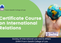 SAIL Certificate Course on International Relations