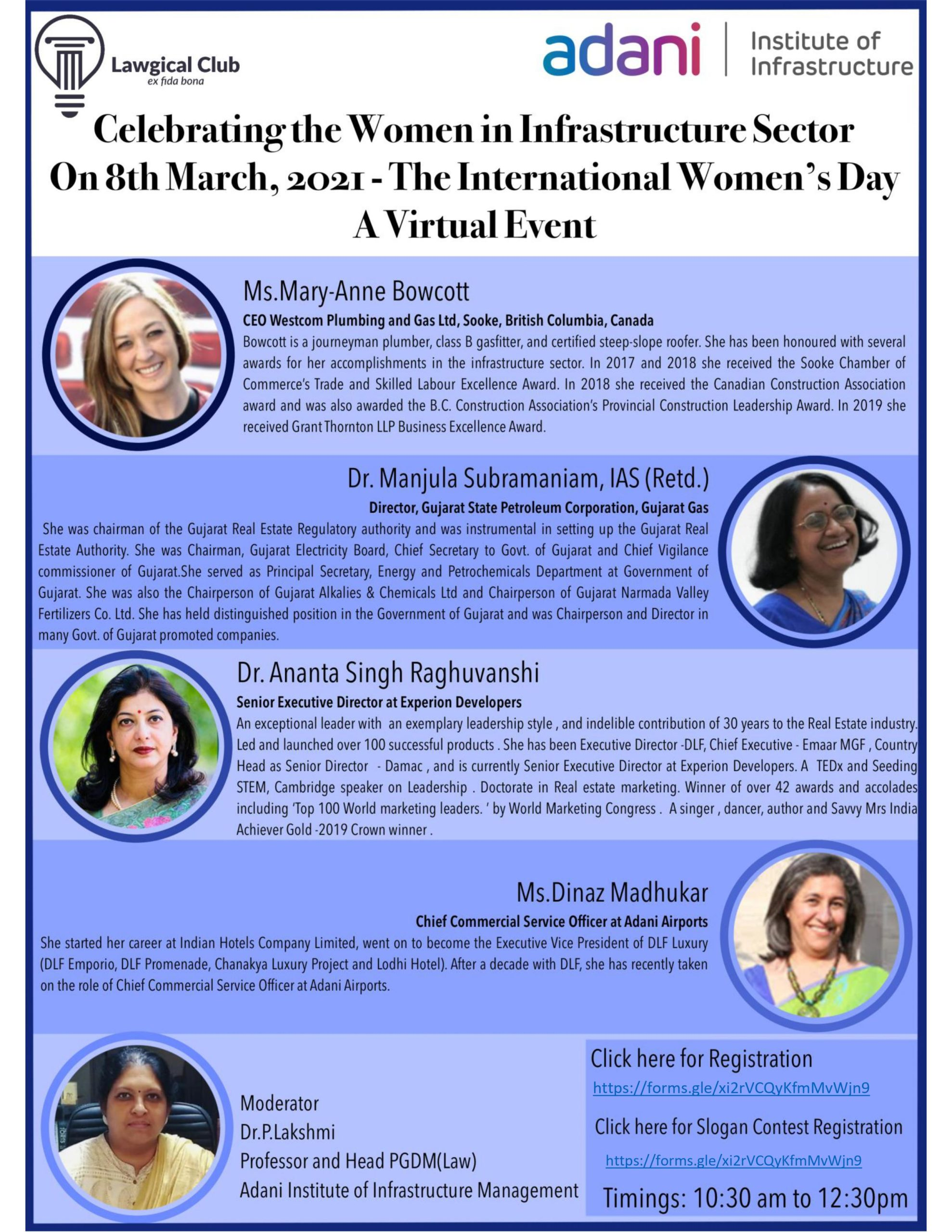 The International Women's Day- A Virtual Event