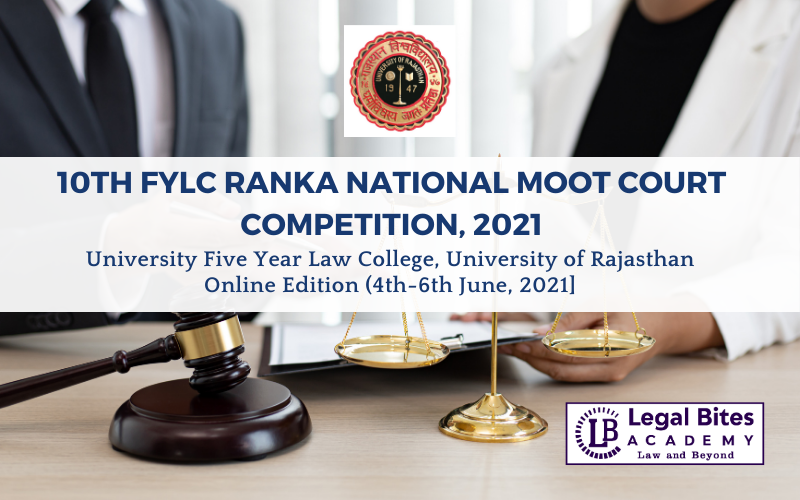 10th FYLC RANKA National Moot Court Competition