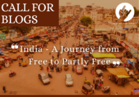 Call for Blogs: India - A Journey from Free to Partly Free   Hoot Welfare Society