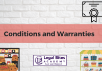 Conditions and Warranties