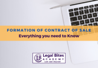 Formation of Contract of Sale
