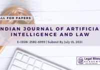 Call For Papers IJAIL   Indian Journal of Artificial Intelligence And Law