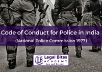 Code of Conduct for Police