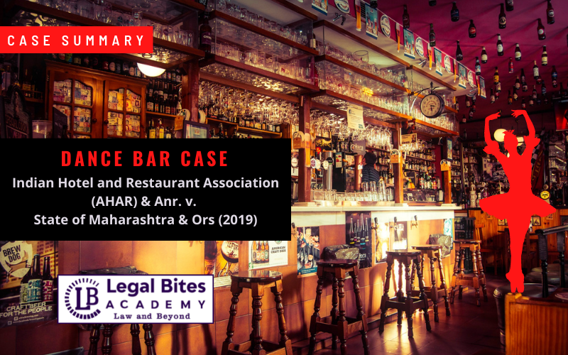 Dance Bar Case | Indian Hotel and Restaurant Association