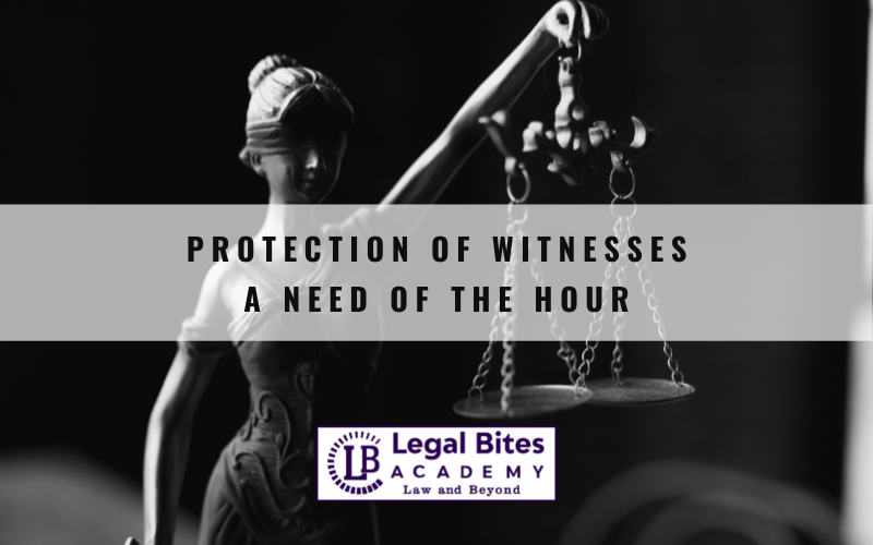 Protection of Witnesses