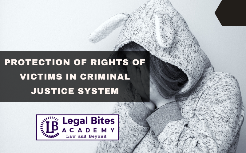 Protection of rights of victims