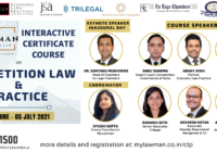 [Online] Interactive Certificate Course on Competition Law & Practice