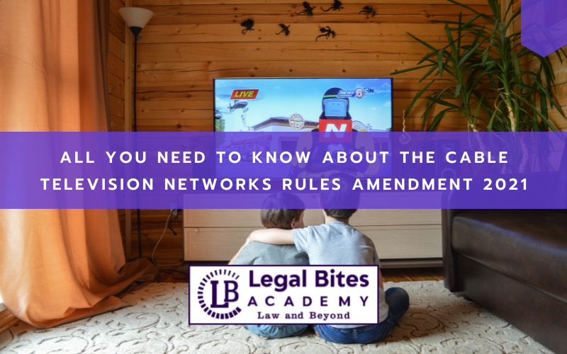 Cable Television Networks Rules Amendment 2021