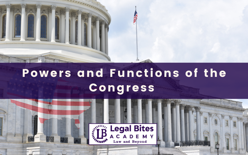 Functions of the Congress