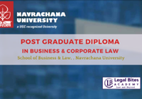 Post Graduate Diploma in Business & Corporate Law