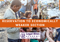 Reservation to Economically Weaker Section