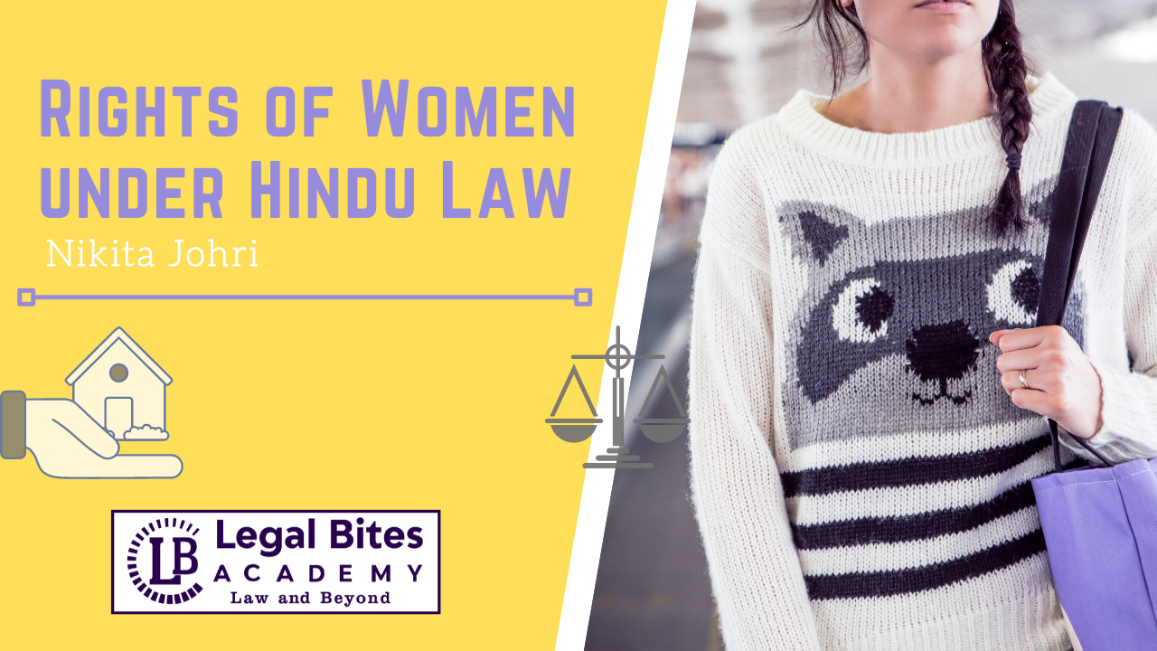 Rights of Women under Hindu Law