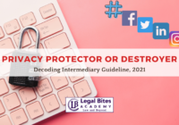 Privacy Protector or Destroyer