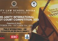 Amity International Moot Court Competition