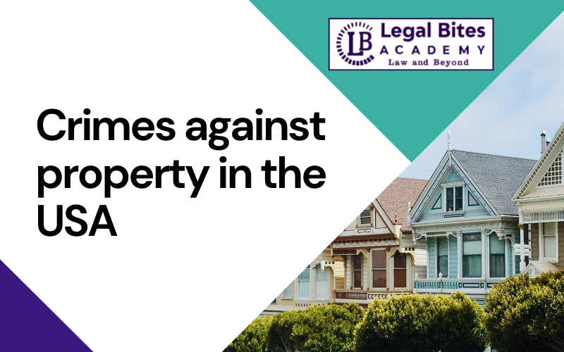 Crimes against property in the USA