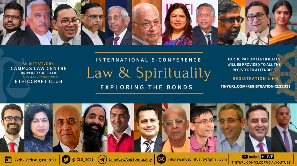 International Conference on Law and Spirituality 2021
