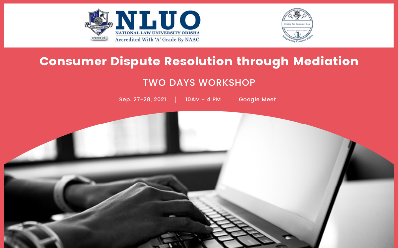 Two Day Workshop on Consumer Dispute Resolution