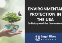 Environmental protection in the USA Judiciary and the Government