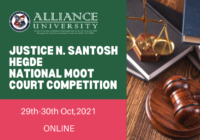 Justice N Santosh Hegde National Moot Court Competition