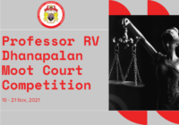 Professor R V Dhanapalan Moot court Competition