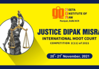 Justice Dipak Misra International Moot Court Competition