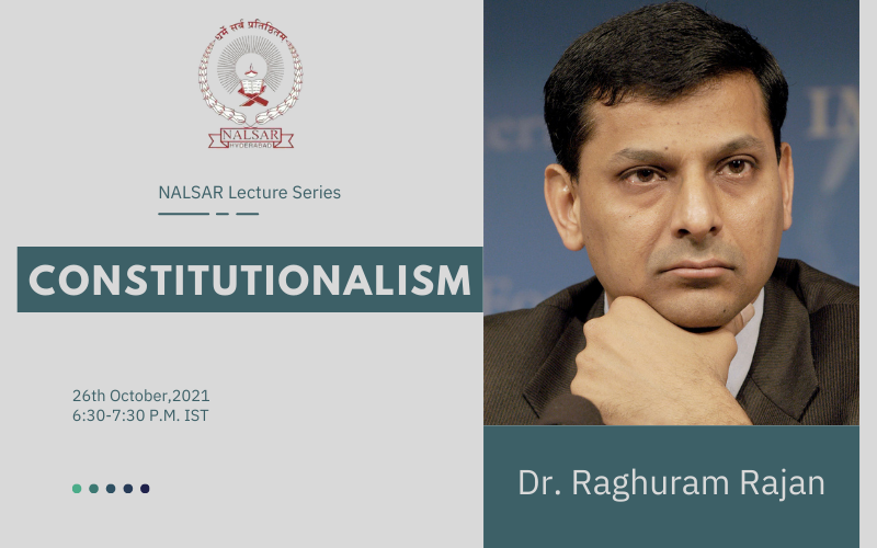 NALSAR Lecture series on Constitutionalism