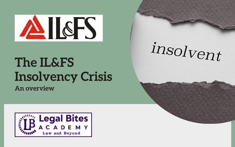The IL and FS Insolvency Crisis